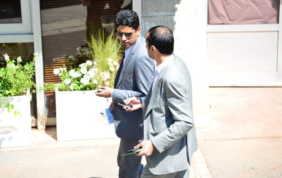 Nasser Al-Khelaifi, le président du PSG était une nouvelle fois présent.