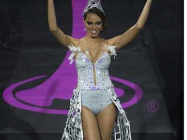 Miss Univers 2013 : les images de la cérémonie qui a couronné Miss Venezuela