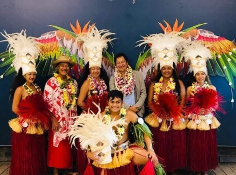 Et Laurent Gerra a été accueilli tout en discrétion à Tahiti.