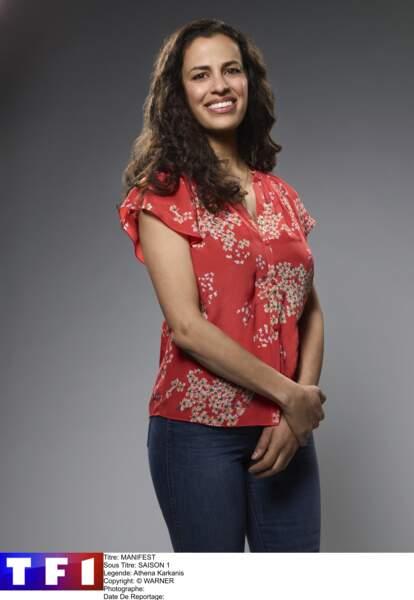 La femme de Ben, Grace Stone, est interprétée par Athena  Karkanis