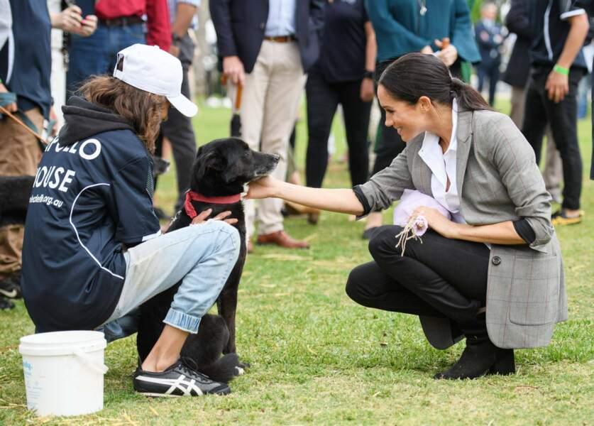 Moment pique-nique en public pour Meghan Markle et le Prince Harry