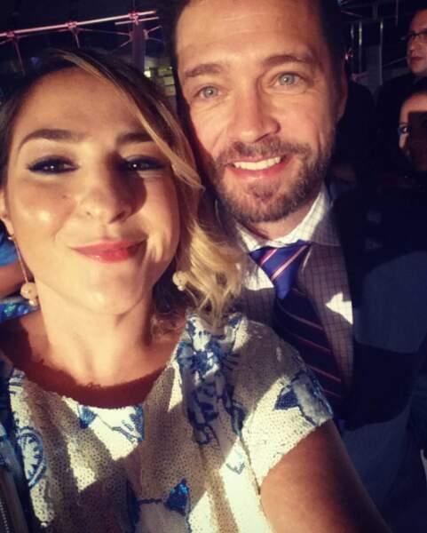 Marilou Berry rencontre aussi de nombreuses stars, comme ici Jason Priestley (Beverly Hills)