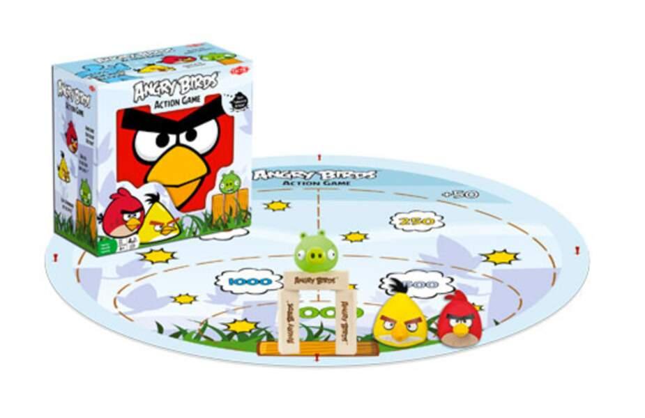 Jeu de chamboule-tout Angry Birds