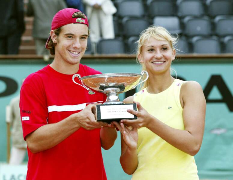 En 2004, Tatiana Golovin remporte le double mixte aux côtés de Richard Gasquet