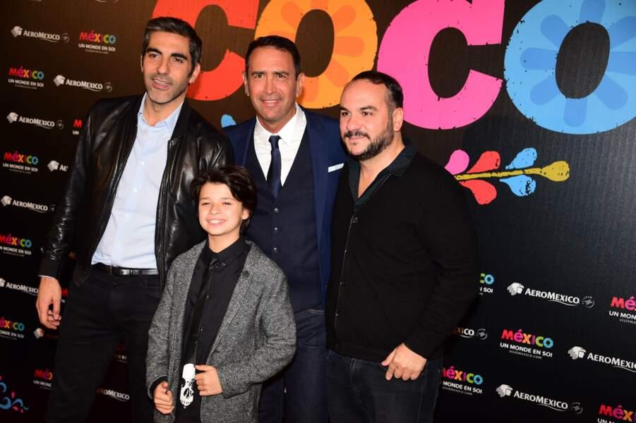 Ary Abittan, François-Xavier Demaison et le jeune Andrea Santamaria prêtent leurs voix au héros du film