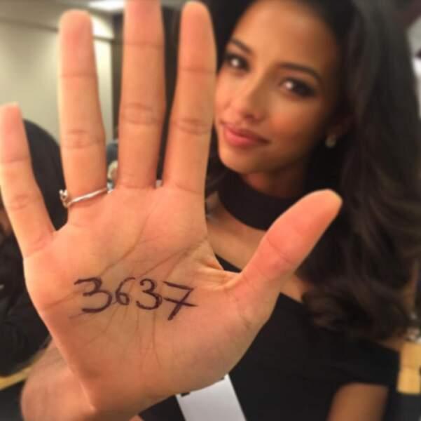 Même à l'autre bout du monde, elle appelle ses fans à soutenir le Téléthon !
