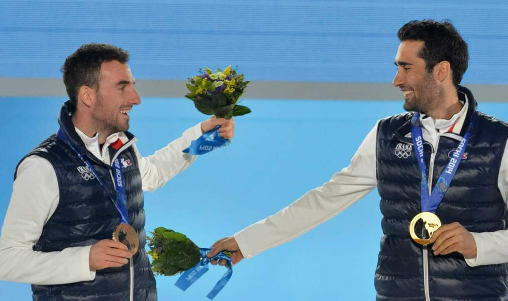 Mais très efficace puisque le Français a gagné deux médailles d'or !