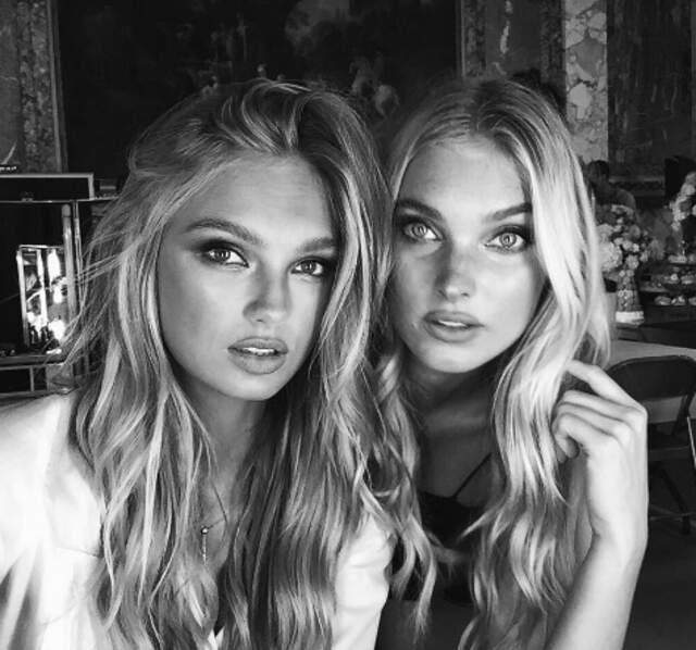 Mais les Anges de Victoria's Secret, en tournage à Paris, sont moins frileux ! Si, si...