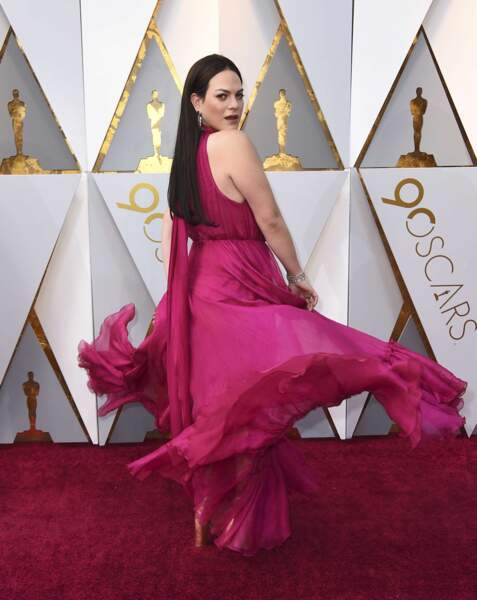 La transsexuelle Daniela Vega, actrice principale d'Une Femme fantastique, Oscar du Meilleur film étranger