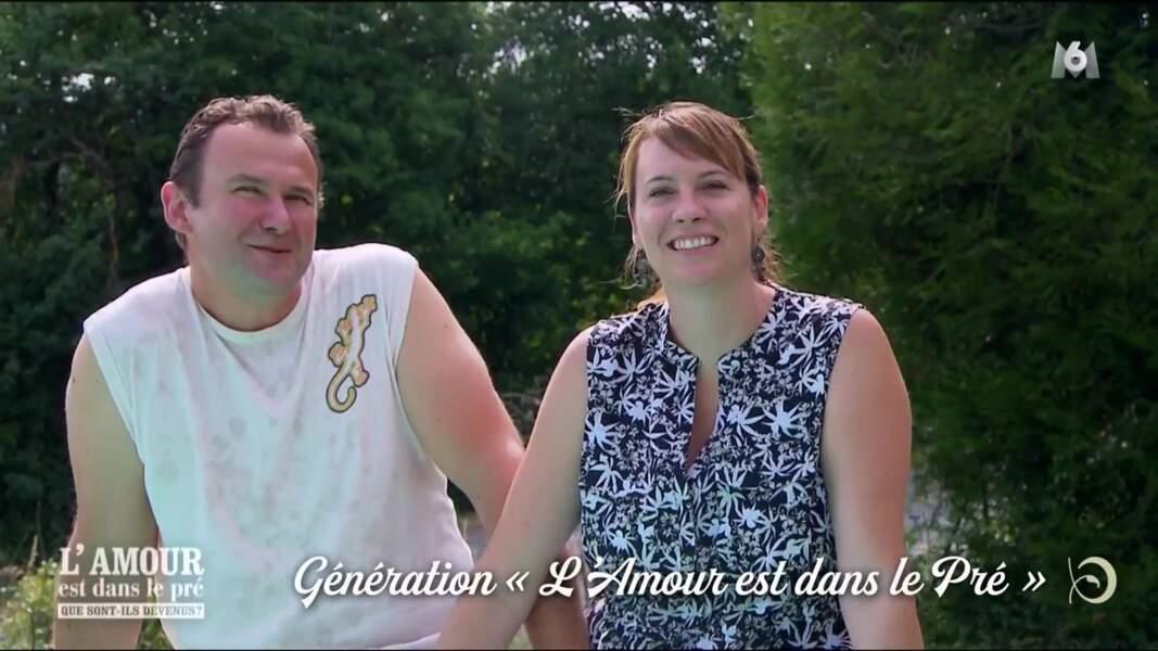Yoann, le céréalier et éleveur de poules de la saison 5, est comblé avec Emmanuelle