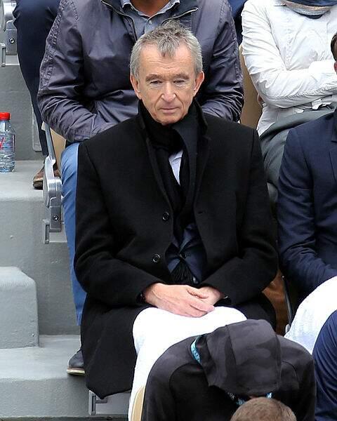 La première demi-finale a aussi attiré un certain Bernard Arnault