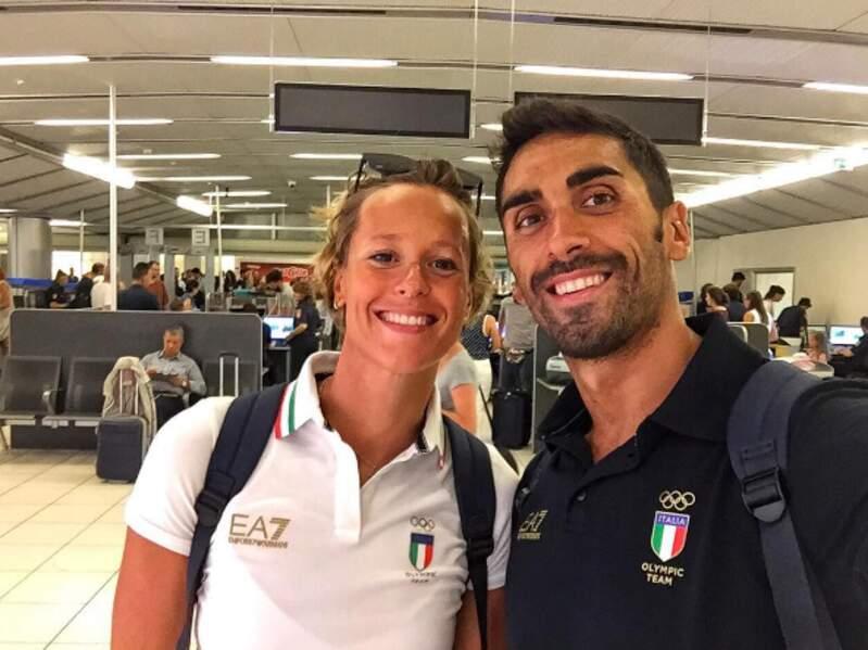 Federica Pellegrini et Filippo Magnini, le couple star de la natation italienne