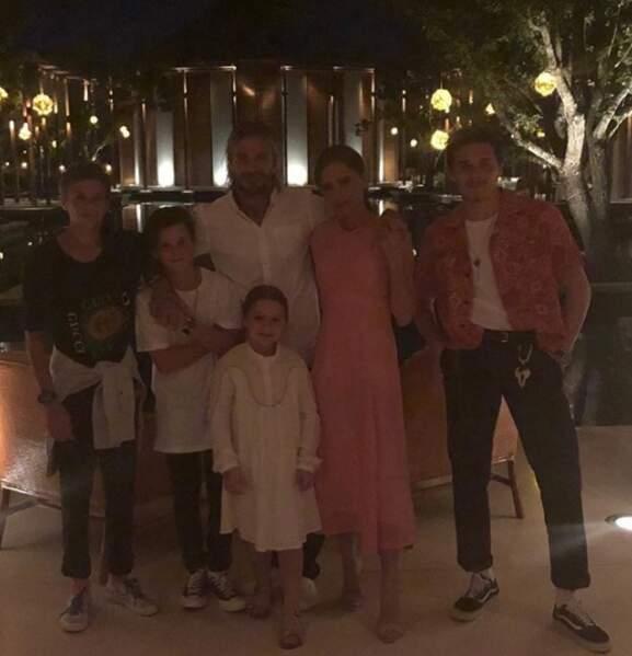 La famille Beckham au complet pour un Nouvel an aux États-Unis !