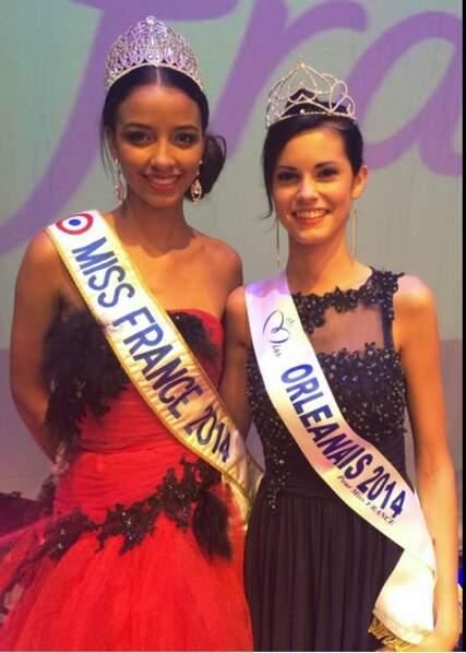 Miss Orléanais 2014, Soléne Salmagne succède à Flora Coquerel