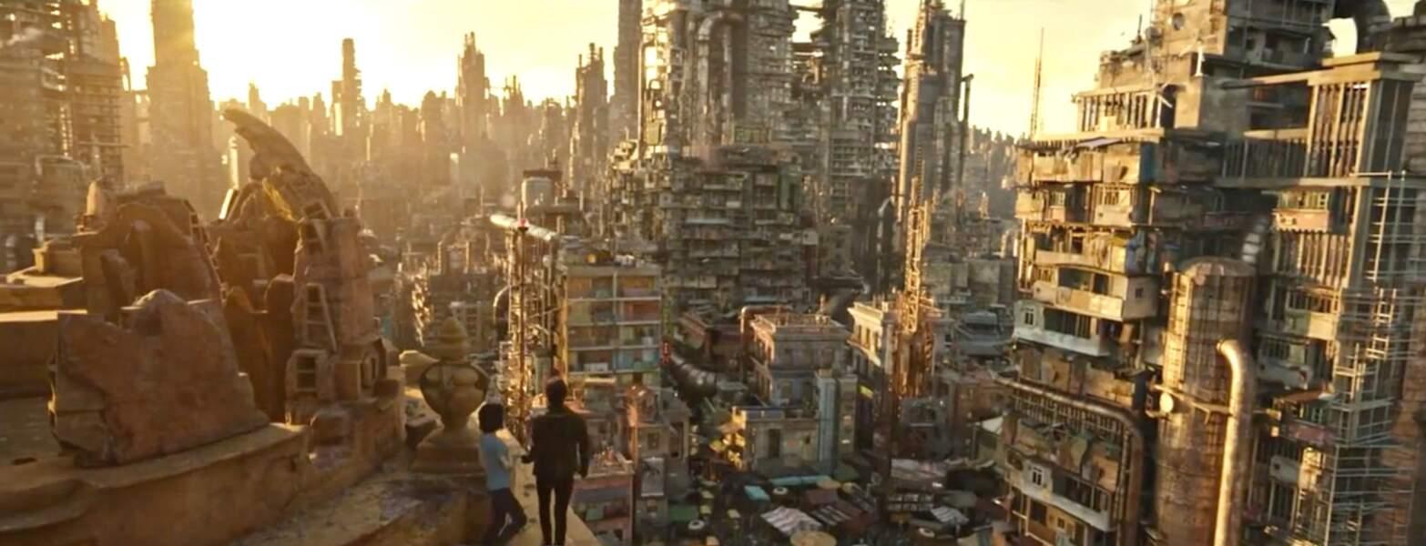 L'histoire se passe au XXVIe siècle dans un monde post-apocalyptique où se confrontent humains et cyborgs.
