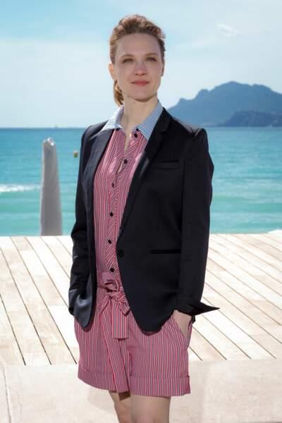 Odile Vuillemin aussi a rencontré ses fans lors de Canneseries