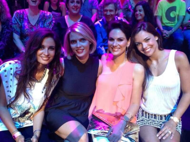 Les Miss sont venues encourager Valérie Bègue dans Un air de star