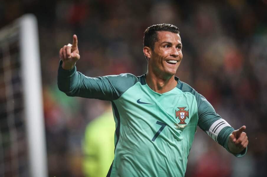 Cristiano Ronaldo, un Portugais toujours gai !