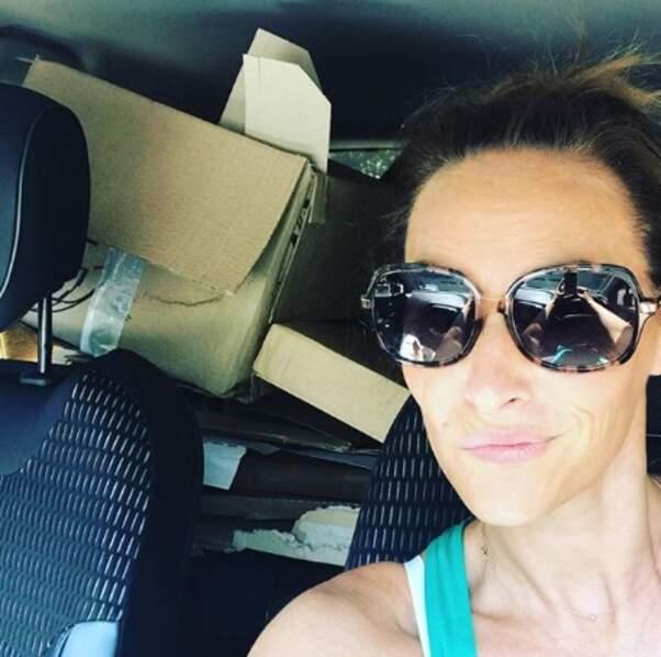 Vanessa Demouy était en route pour la déchetterie.