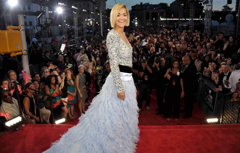 Rita Ora, un ange passe...
