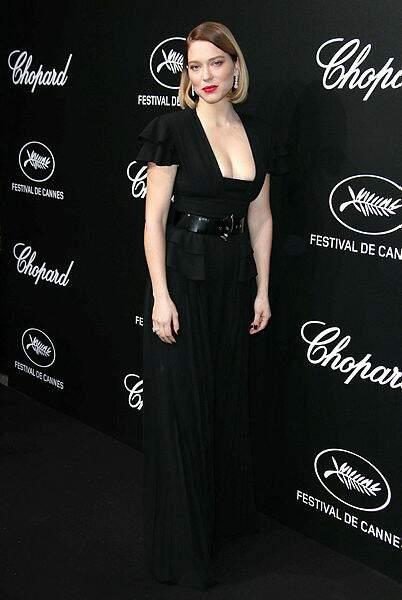 Léa Seydoux resplendissante