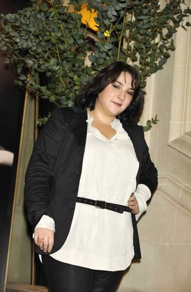 Voici la comédienne Marilou Berry en 2009...