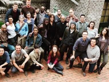 Les acteurs de The Walking Dead hors-caméra, sur le tournage de la série !