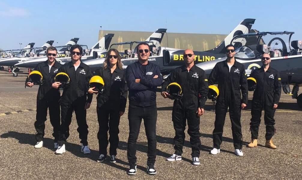 Arthur en compagnie des futurs pilotes de VTEP No Limit