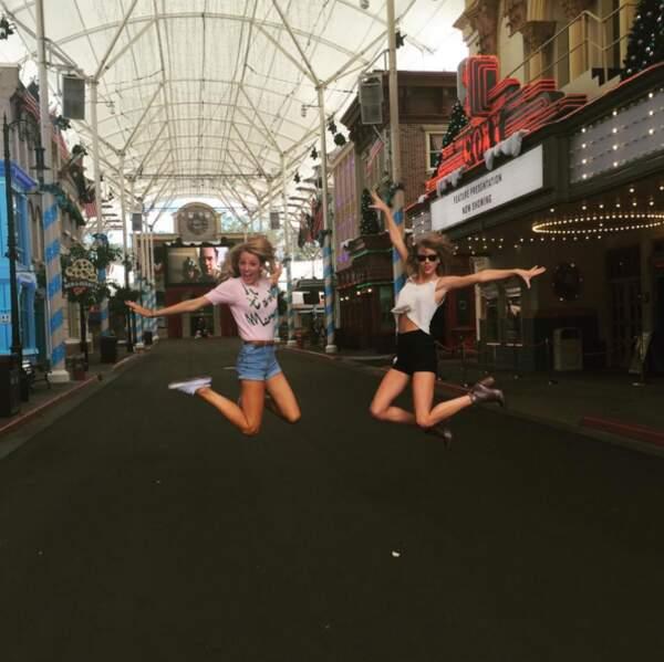 Eh oui, les deux blondinettes sont en Australie ! Les veinardes.