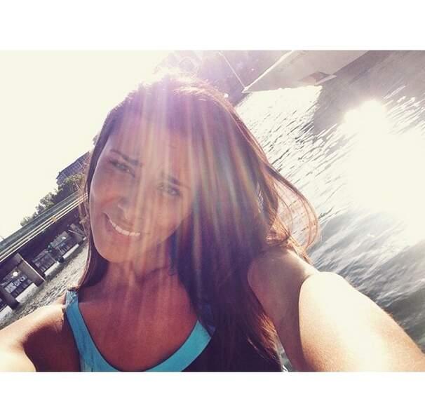 Et hop, encore un petit selfie au soleil pour la route !