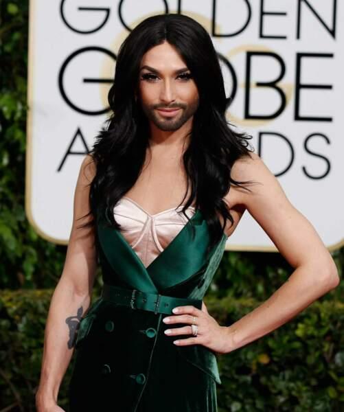 La gagnante de l'Eurovision 2014, Conchita Wurst