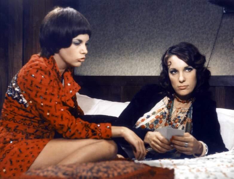 Avec Chantal Goya dans L'amour c'est gai, l'amour c'est triste en 1971.