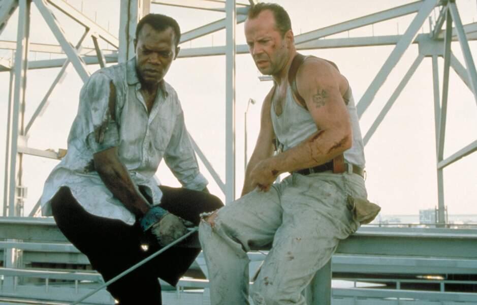 Dans la saga Die Hard il n'a pas hésité à mouiller le maillot !