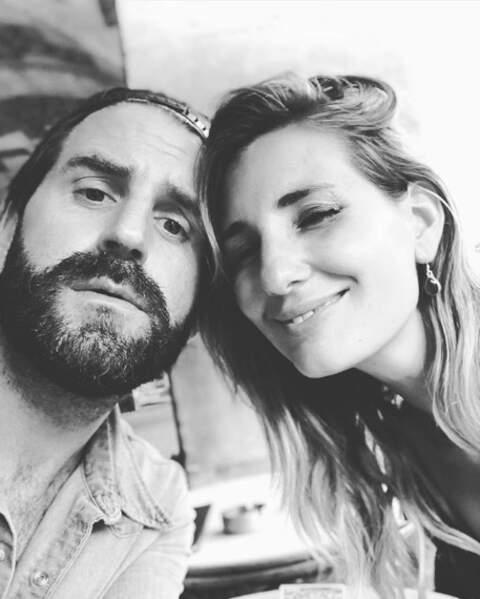 On commence avec de jolis duos : Marie Portolano et son amoureux Grégoire Ludig.