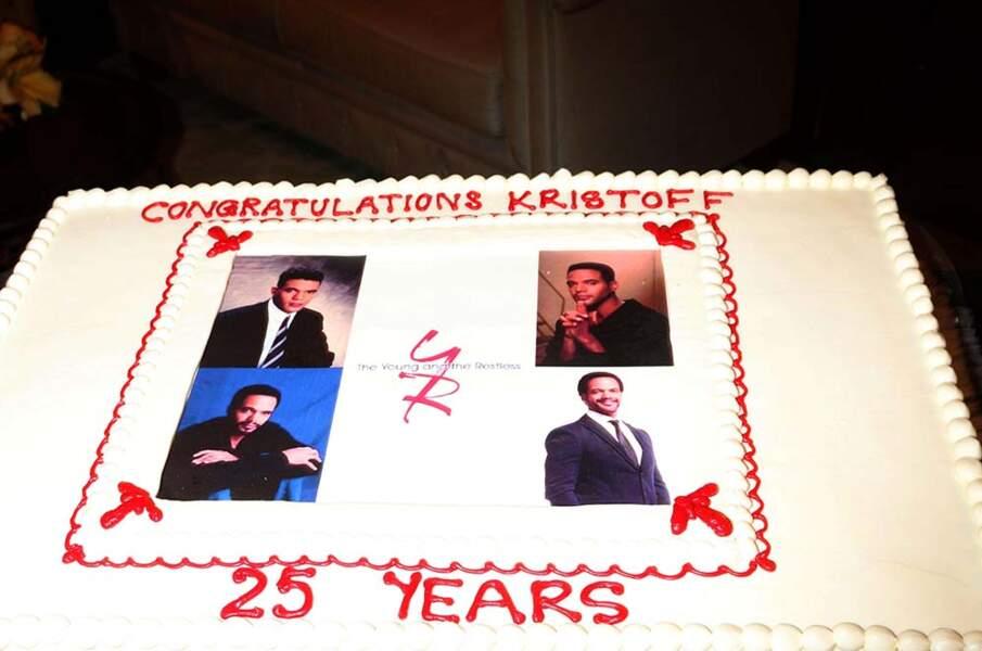 En 2016, Kristoff St. John a aussi célébré ses 25 ans au sein du casting du soap opera !