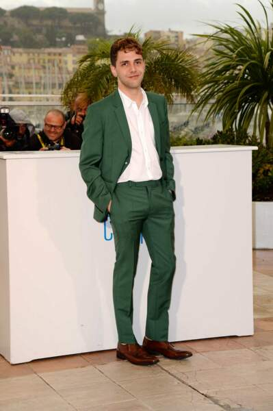 On applaudit le costume vert ! Il fallait oser, and he did it !