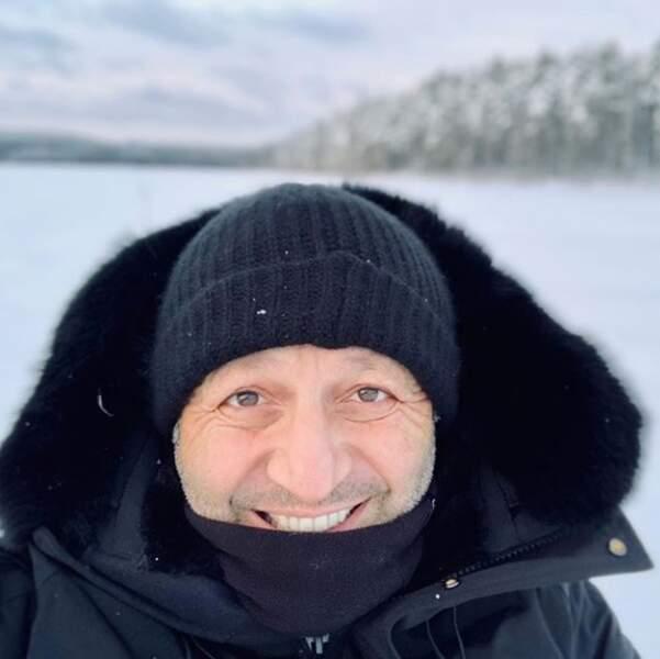 Arthur a très froid en Laponie