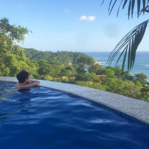 Et quelle vue de folie pour Carly Rae Jepsen au Nicaragua !