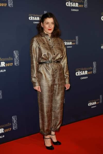 La comédienne et réalisatrice Valérie Donzelli