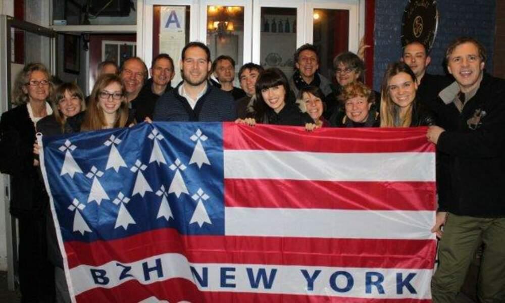 Nolwenn s'est fait plein de copains à New-York !