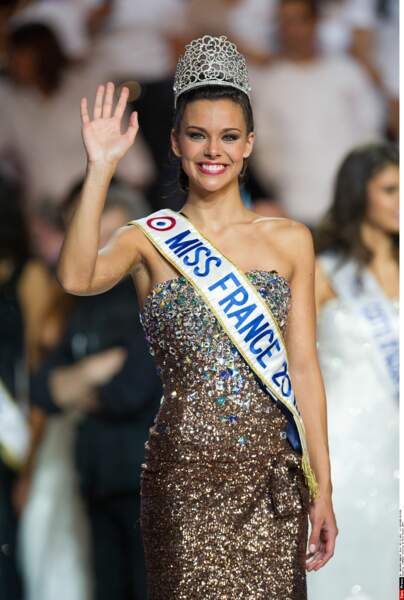 Miss France 2013 : Marine Lorphelin (Miss Bourgogne)