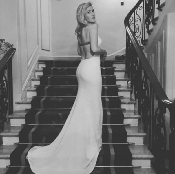 Après Kendall Jenner, c'est Ellie Goulding qui remonte le niveau les meufs.
