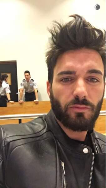Petit selfie du Marseillais