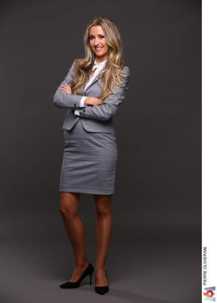 Caroline, 30 ans : créatrice d'une entreprise de cosmétiques à Miami, elle est sociable et dynamique