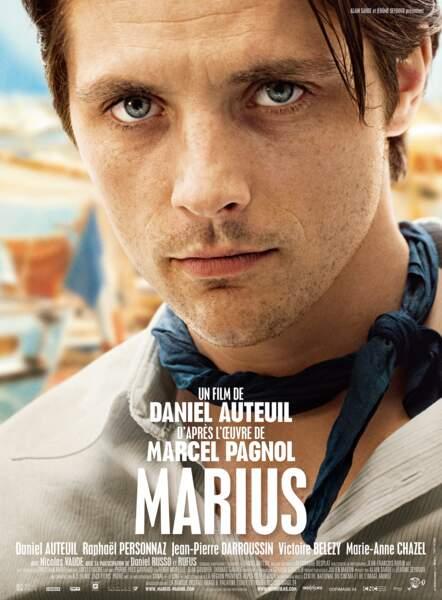 """Et dans le """"Marius"""" de 2012, avec Raphaël Personnaz..."""