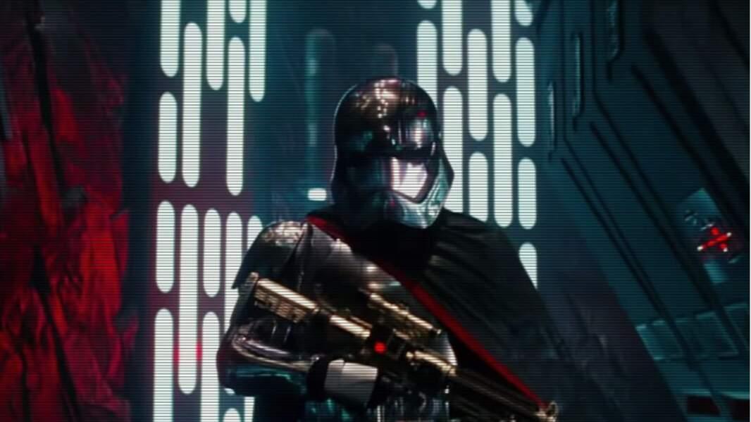 Et dans la nouvelle trilogie de Star Wars où elle joue le capitaine stormtrooper Phasma !