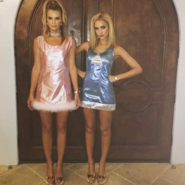Jessica Alba qui s'est inspirée avec sa mannequin top Kelly Sawyer du film Romy et Michelle, 10 ans après.