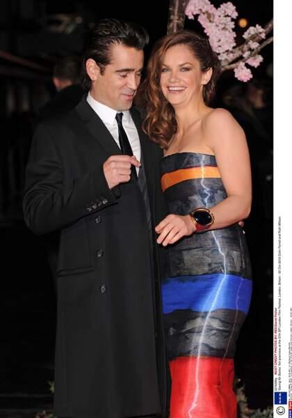 Colin Farrell et Ruth Wilson.