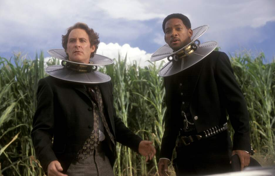 Will Smith et Kevin Kline dans Wild Wild West (1999)
