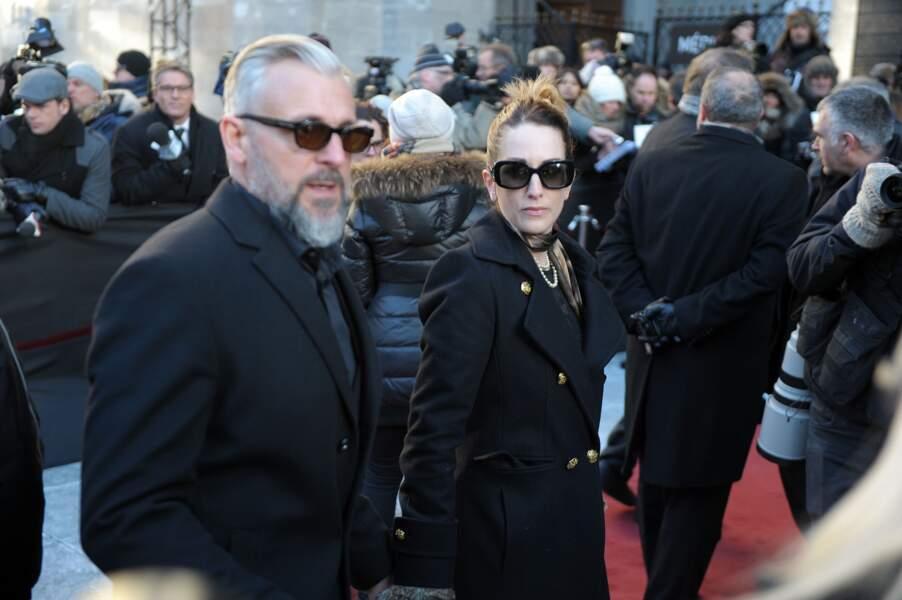 La chanteuse Anik Jean et son époux, l'humoriste et cinéaste Patrick Huard, étaient aussi présents